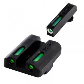 Sight Set TFX with Rear Sight (fiber optic) and Front Sight (Tritium+fiber optic), for Glock - Truglo