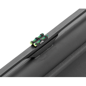 Twin Front Sight for Shotgun, with Green Optic Fiber 2 mm - LPA