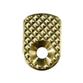 CZ Shadow 2 Brass Magazine release button - Lok Grips