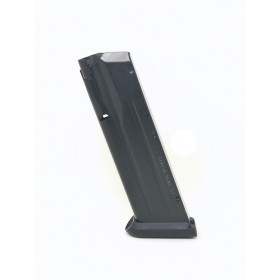 Magazine with aluminum pad for wide barrel magwell - Tanfoglio