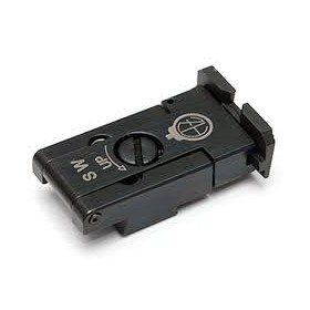 Adjustable rear sight for CZ75