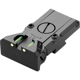 Adjustable Rear Sight with Fibre Optic, for CZ 75 Tactical Sport - LPA