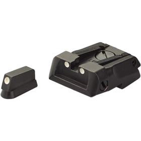 Rear sight + front sight with white dots, for CZ 75 SP 01 Shadow / Shadow 2 / Shadow 2 Orange - LPA