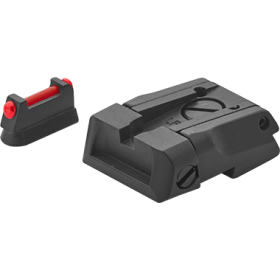 Rear sight + front sight with fibre optic, for CZ 75 SP 01 Shadow / Shadow 2 / Shadow 2 Orange - LPA