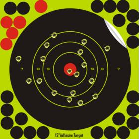 Bersagli Reattivi 20,3x20,3cm (25 pz.) - Tacband