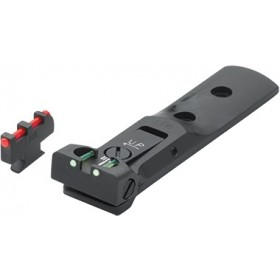 Rear Sight Green Fibre Optic + Front Sight Red Fibre Optic, for Revolver S&W - LPA