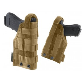 Handgun Holster with MOLLE System - Defcon 5