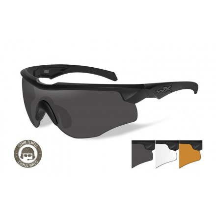 Rogue Comm Glasses (3 lens) - Wiley X